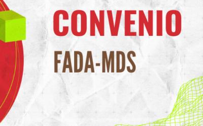 FADA suscribe convenio con Ministerio de Desarrollo Social de la Nación